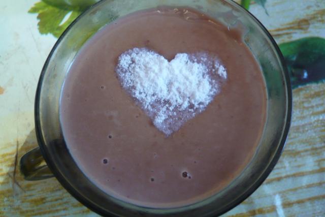Рисовый горячий шоколад – кулинарный рецепт