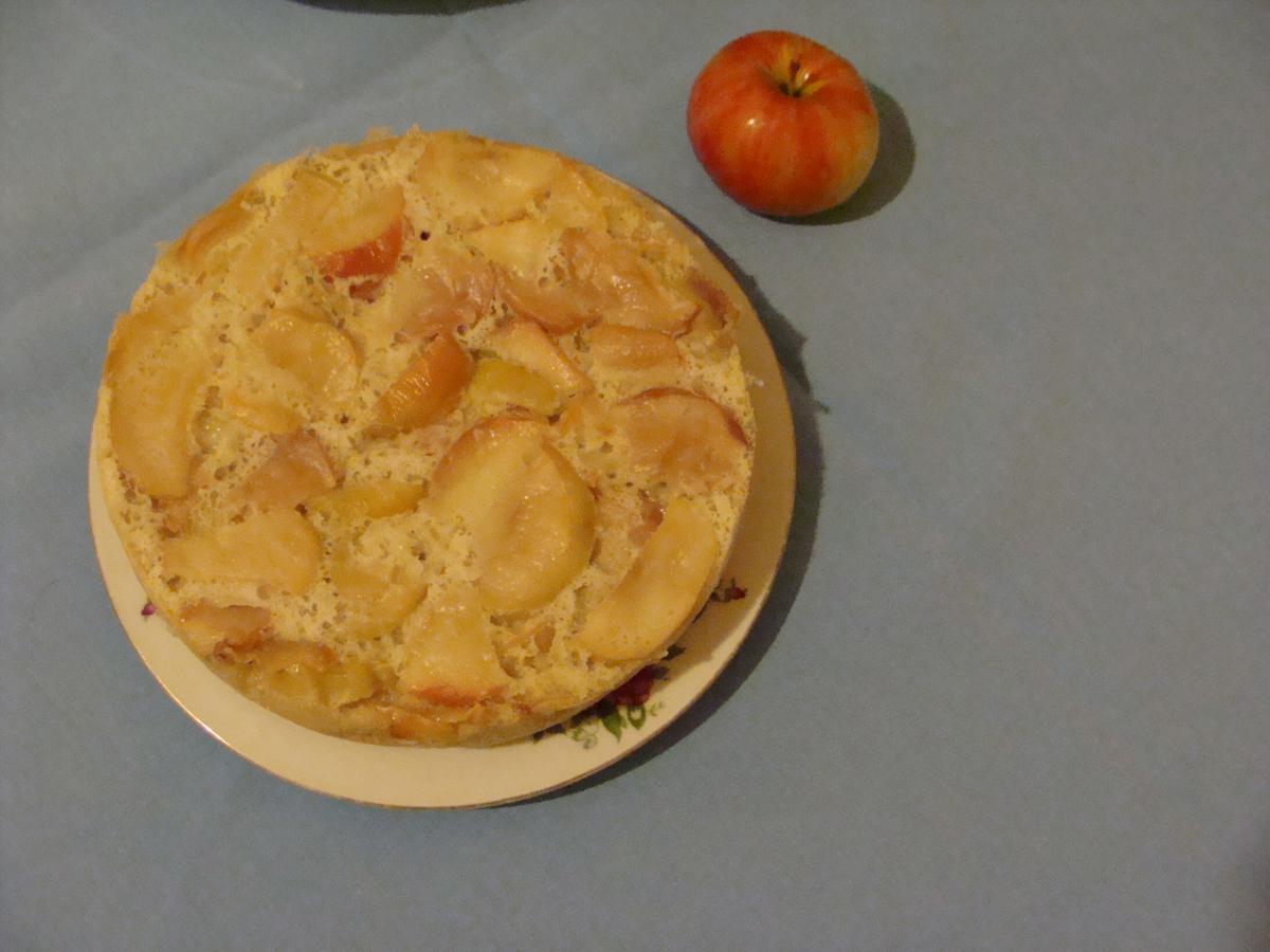 Шарлотка с яблоками в мультиварке панасоник рецепт с фото пошагово