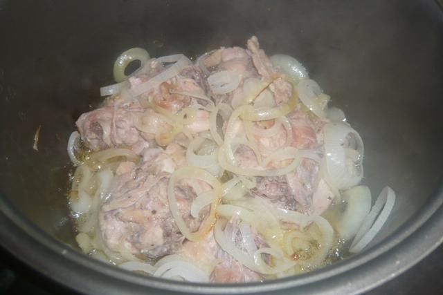 рецепты в мультиварке redmond курица тушеная с