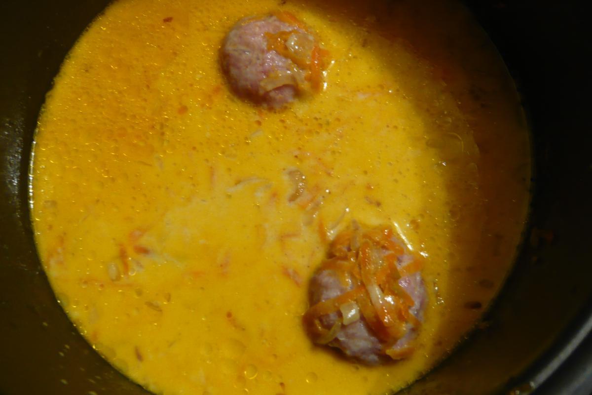 рецепт тефтелей с рисом в мультиварке борк