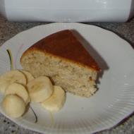 """Фото рецепта: """"Банановый пирог с овсянкой"""" в мультиварке Philips"""