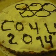 """Бисквитный торт """"Сочи 2014"""" - рецепт для мультиварки"""