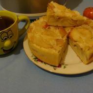 Рецепт для мультиварки - Шарлотка с яблоками в мультиварке