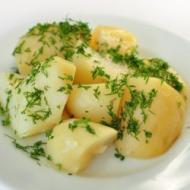 Фото рецепта: Картофель отварной в мультиварке Redmond