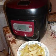 """Фото рецепта: """"Картофель по-деревенски"""" в мультиварке Vitek VT-4200"""