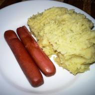 Картофельное пюре с укропом в мультиварке