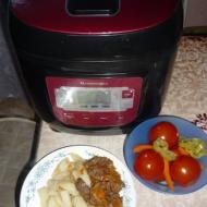 Фото рецепта: «Картошка с тушенкой» в мультиварке Vitek | multipovara.ru