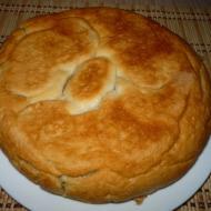 Пирог с картофелем и рыбой в мультиварке