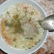 """Фото рецепта: """"Суп с говядиной и вермишелью"""" в мультиварке Vitek"""