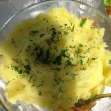 Картофельное пюре в мультиварке Redmond