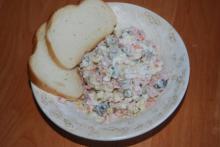 Оливье салат мультиварка Polaris
