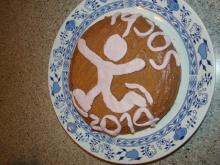 Олимпийский тортик – посвящается фигурному катанию!