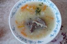 "Фото рецепта: ""Суп с пшенкой"" в мультиварке Vitek"