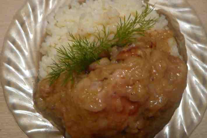 Рецепт для мультиварки - Курица в сметанном соусе в мультиварке